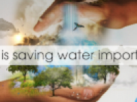 Why is saving water important?
